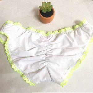 Victoria's Secret Swim - Victoria's Secret White Neon Underwire bikini set